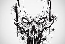 Skull feeders
