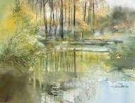 Peintures / choix d'aquarelles