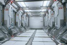 3D interior - Sci-fi