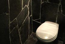 Toilet tegels / Tegels voor in het toilet