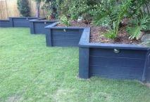 Garden - retaining walls and fences