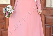 Volanlı Ebrar Elbise / tesettür tesettür giyim