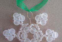 christmas ornament - snowflake / by Judy Rosmus