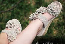 crochet sepatu/sandal