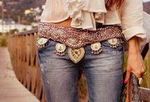 boho fashion / clothing and jewelry