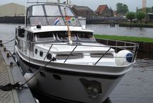 Boating in the Netherlands / Cruising the inland waterways of Netherlands on our boat Shangri-La 2