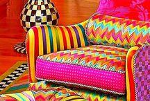 Mobili colorati