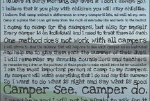 """""""Why Summer Camp?"""" / Why we chose summer camp quotes... / by Amy Eddins"""