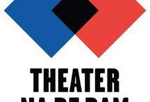 Theater na de Dam - Huisstijl / Alle logo's, affiches en andere huisstijlelementen