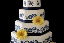 Navy and yellow wedding / by Traci Herbst