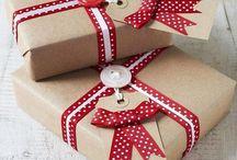 Inspiracje - pakowanie prezentów