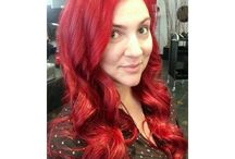 RED & COPER HAIR COLOR