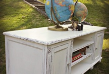 Refinished Furniture / Style and inspiration for furniture makeovers. Refinished & Distressed   / by Nikki F