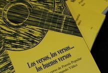 """Lanzamiento libro """"Los versos, los versos, los buenos versos"""" / Libro creado por el Archivo de Cultura Tradicional de Artistas del Acero, que recoge el trabajo de los alumnos del curso de Poesía Popular, que dictara Fernando Yáñez."""