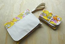 Nappy Wallets, Clutchs and Bags / Nappy wallets/clutches and bags designed to make mums life easier with little ones