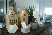 homestory workshop / hand made concrete decor