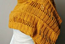 Echarpes em crochet
