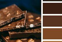 BROWN | HNĚDÁ / Hnědá - jako odstín oranžové, kde je její emocionálnost a živost potlačena do příjemné, jisté, solidní, reálné a poklidné atmosféry. Hnědá na nás působí příjemně a konejšivě, a přesto nás neuspává. Má nízkou světelnou odrazivost. Symbolizuje dřevo, kůži, půdu, kávu, čokoládu, což jsou vesměs pro člověka příjemné asociace... http://paletabarev.webnode.cz/brown/
