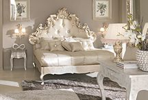 French Chateau Collection / Our French château collection encompasses beauty and elegance enhanced with stunning intricate detailing. The white cream finish of these pieces will create a wonderful charming feel in your interior.