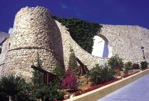 Casco Antiguo - Old Town - Исторический центр Кальпе