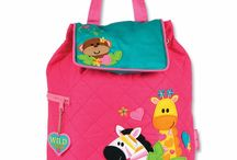 Children's Personalisable Bags / Choose a bag, choose a style, choose a font and type a name: we do all the hard work, personalizing the bag for you!