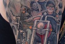 Biker Tattoos / by ChopperExchange