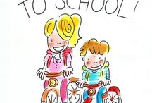 Back to school / Alles over en voor school