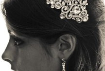 Wedding Accessories that SPARKLE! / A bride's look is complete with the PERFECT amount of SPARKLE!!!