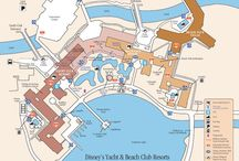 Disney Resort Maps