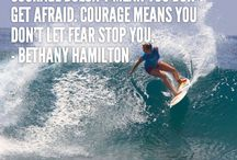 Bethany Hamilton / Such an great Christian woman. Make sure to watch SOUL SURFER.....Best Movie EVER!  The BOOK is also AWESOME One of my faves