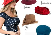 1940 hats