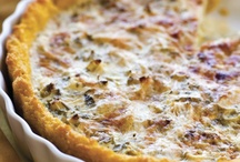 Savoury Pastries, Tarts & Quiches