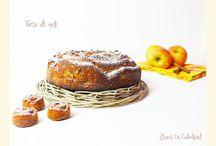 Torta di mele / torta di #mele con #mandorle #tostate #cannella