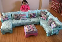 0 LIVING ROOM FURNITURE / by A Dolls Life