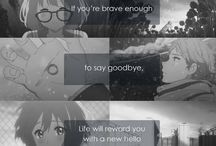 C's Anime Quotes