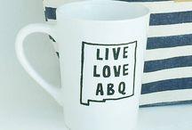 Live Love ABQ - Products I Design