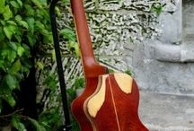 Cocobolo Rosewood handcrafted tenor ukulele with a solid 120+year old Cedar neck & spruce top