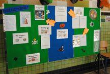 Infoborden van ouderwerkingen / Communicatie met alle ouders via infoborden met tekst, pictogrammen, foto's, ...