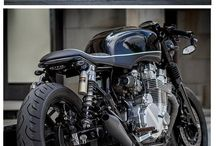 cafe racers and customs