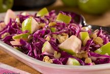 Healthy Coleslaw Recipes / Our collection of healthy coleslaw recipes are perfect for anytime of the year. We've got everything from easy picnic coleslaw recipes, like our Colorful Coleslaw recipe, to fall-perfect coleslaw recipes, like our Apple Tree Cabbage Slaw. Our coleslaw recipes are diabetic friendly, too!