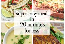 Quick and Easy meals / Meals that are easy and quick to make. For when you have sudden guests or When you have reached home late and want to make a sumptuous, quick and easy meal.