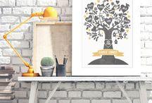 Family Poster / Verschönere Euer Heim mit von Dir online selbst erstellten Postern von Printcandy. Hänge Persönlichkeit an euere Wände. Vom hippen Stammbaum Poster über die Familienregeln mit euren Namen. Auch ein super tolles Geschenk zum Einzug. www.printcandy.de