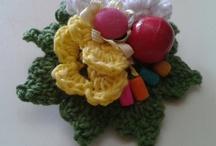 Rani Kun / Suka Banget sama  Crochet, ribbon, knitt , craft, handmade