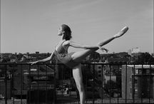 Ballerina / I love the way ballerinas dance. Their form, their movement. Everything is so graceful
