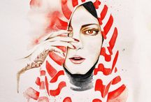 hijab illustration / express your style!