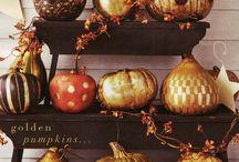 Fall / Fall decor ideas for fall events.