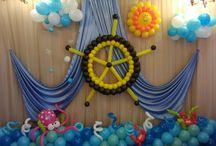 dekoracje przedstawienie