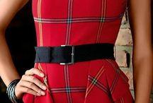 Tartan outfit