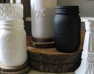 All things Mason / anything to do with mason jars - Love!