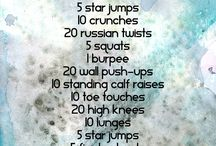 exercise ideas / by Carolyn Stechmann